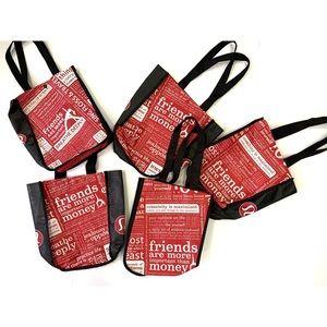 Lot of 5 Lululemon Manifesto Shopping Tote Bags